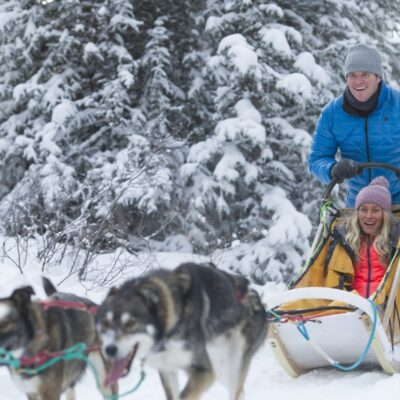 Canada Yukon Dog Sledding Credit Yukon Tourism Cathie Archbould