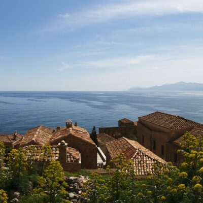 Greece Monemvasia Hillside view Credit Graham5399 Pixabay