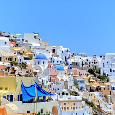 Greece Santorini buildings Credit Jarekgrafik Pixabay